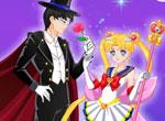 Sailor Moon et l'homme masqué