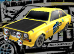 Rallye voiture 3d