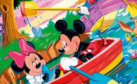 Mickey and Donald Puzzle