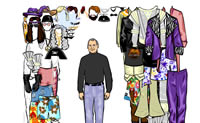 Dress Steve Jobs