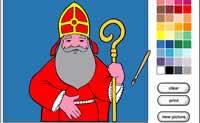 St Nicholas Coloring